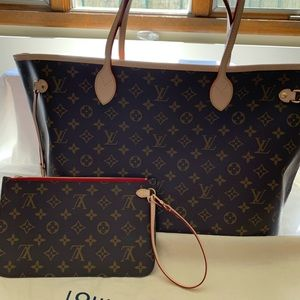 Louis Vuitton GM Neverfull Cerise Red